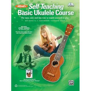 ALFRED'S SELF-TEACHING BASIC UKULELE COURSE (WITH CD)