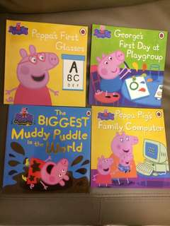 Peppa Pig Story 4 Books