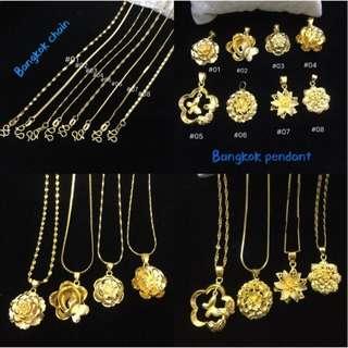 Bangkok Gold Necklace Good Quality