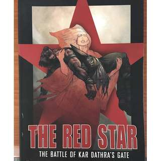 THE RED STAR Graphic novels x2