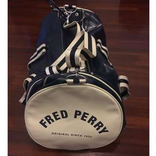 Fred Perry Bag Dark Blue (Rarely Used; No Damages at All; Good as New)