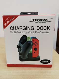 (Brand New) Done Charging Dock for Nintendo Switch Joy-Con and Pro Controller