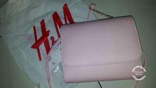H&M Babypink Slingbag