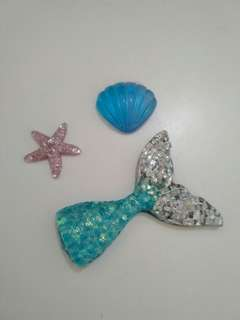 Sea creatures charms