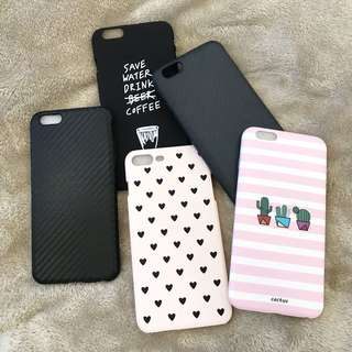 ALL IN! IPHONE 6 PLUS CASES (5pcs)