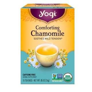 Yogi Tea, Comforting Chamomile, Caffeine Free, 16 Tea Bags, .85 oz (24 g)