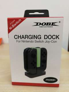 (Brand New) Dobe Charging Dock for Nintendo Switch Joy-Con