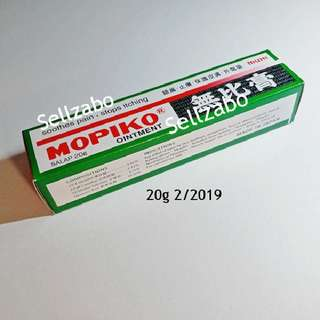 Mopiko Ointment Anti Itch Itchy Itchiness Mosquito Insects Bites Sellzabo Soothes Soothing Relief Relieve Cream 无比膏