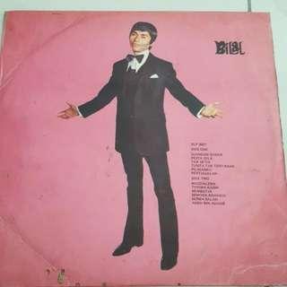 LP/Vinyl Piring Hitam Bilal