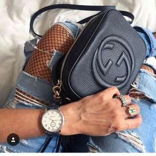 Gucci soho bag in black