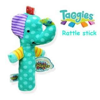 Taggies Mini Rattle - ELEPHANT