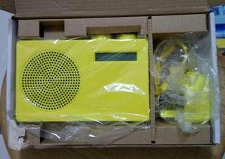 全新 DBC 數碼/FM 收音機