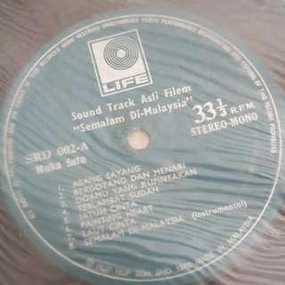 LP/Vinyl Piring Hitam Sound Track