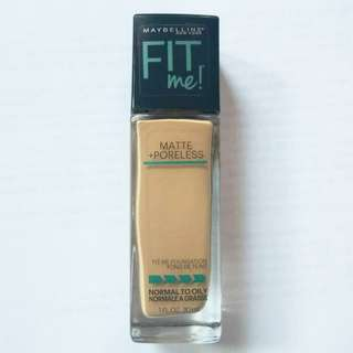 Fitme foundation maybelline shade 228 matte