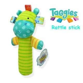 Taggies Mini Rattle - RHINO