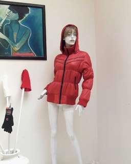 Jacket Coat Winter Red