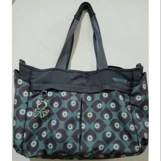 Diapers bag okiedog metro damask