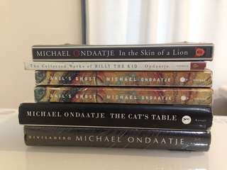 Michael Ondaatje Books (bundle)