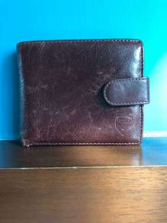 Brown Leather Arsenal Wallet (official)