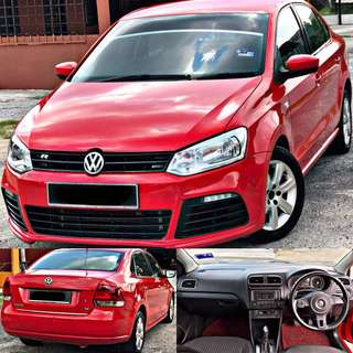 (AVAILABLE)  SAMBUNG BAYAR / CONTINUE LOAN  VOLKSWAGEN POLO 1.6 AUTO