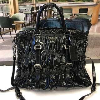 Prada Patent Handbag