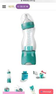 B.Box travel bottle with tears