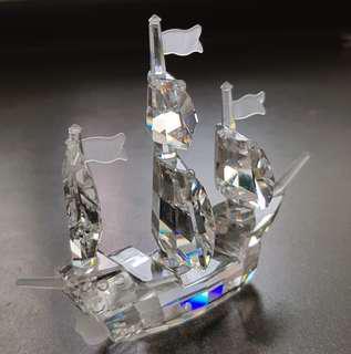 103 Swarovski Silver Crystal - Santa Maria
