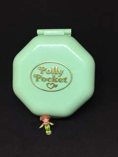 Vintage polly pocket for sale school compact