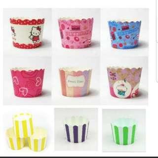 50pcs Cupcake / Muffin Cup series 1