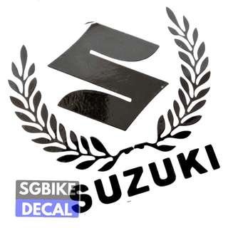 Suzuki Black Decal