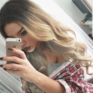 Ombre Blonde Hair Wig
