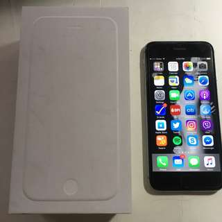 Apple iPhone 6 64GB Space Gray Model A1586 Factory Unlocked