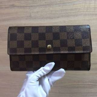 LV DAMIER TRIFOLD WALLET