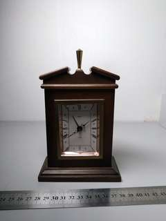 West German antique table wind clock