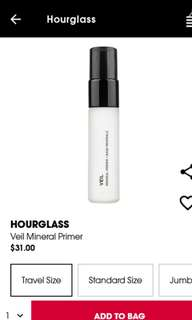 🚚 BNIB Hourglass Veil Mineral Primer Travel sized
