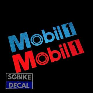 Mobil Reflective Decal