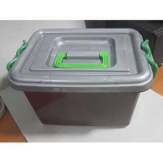 Plastic Storage Container with lock