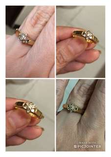 Authentic Gold ring