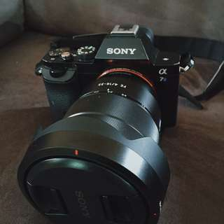 Sony A7S with FE 16-35mm f/4 ZA OSS Lens