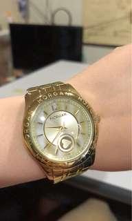 Morgan gold color watch