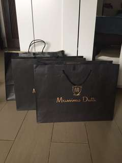 Paper bag Mussimo Dutti