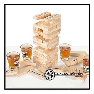 1632012 積木游戲酒具 趣味積木游戲 喝酒游戲 桌上桌面游戲 喝飲料游戲