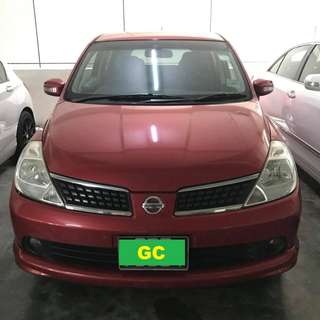 Nissan Latio RENT CHEAP CHEAP GRAB/RYDEX