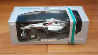 Michael Schumacher Mercedes AMG F1 Car 1:18 Scale Limited Edition by Minichamps