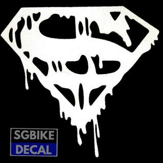 Superman Reflective white