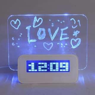 326 Multifunctional LED Digital Alarm Clock
