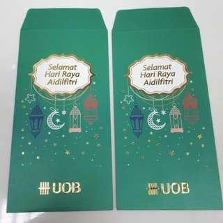 Angpao Sampul Duit Raya UOB Bank