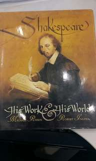 Shakespeare ~ His work & his world