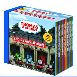 Thomas story books (set of 24)