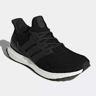 🚚 Adidas Ultra Boost 4.0 女鞋 慢跑 馬牌大底 編織 襪套 柔軟 緩震 黑